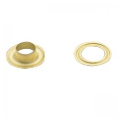 Oesen gold, 9.9 mm,  1000 Stück