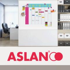 FerroSoft Whiteboard ASLAN FF 480 1.01 x 1m