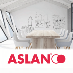 FerroSoft Whiteboard ASLAN FF 490 matt 1.37 x 1m