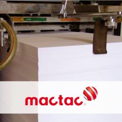 MACal 8129 weiss glänzend mit permanenten Kleber