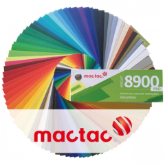 MACal 8900 PRO div. Farben MATT 1.23m