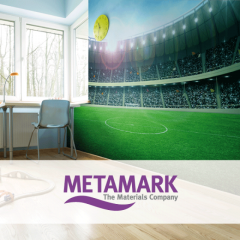 METAMARK MDP-H 1.37x50m high tack white gloss