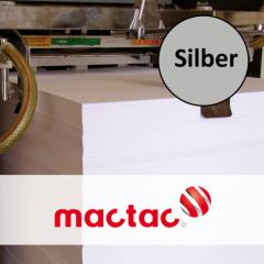 Milmar TC Polyesterfolie 25 my silber matt