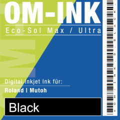 1 Liter Bulk für Roland/Mutoh, black