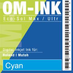 1 Liter Bulk für Roland/Mutoh, cyan