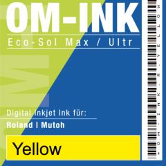 1 Liter Bulk für Roland/Mutoh, yellow