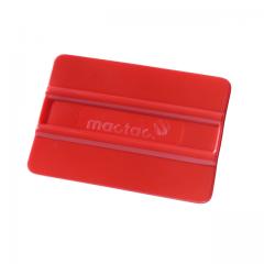 Rote flexibler Kunststoffrakel (weich)
