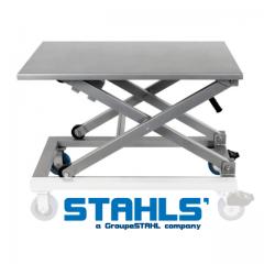 Schwerlast-Tisch aus Stahl 95x60cm