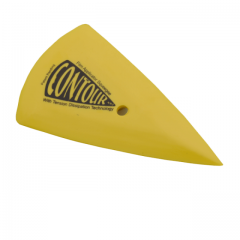 Yellow Contour Squeegee Medium