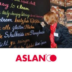 PremiumBlackboard ASLAN BB 910 1.25 x 1m