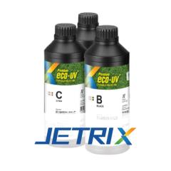 Jetrix Premium Eco-UV Tinte für flexible Medien